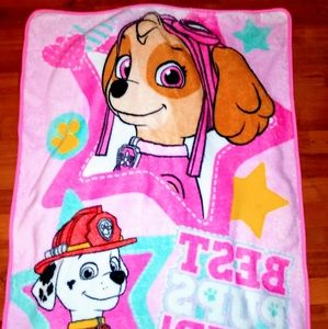 "💗🐶LIKE NEW! Paw Patrol ""Skye"" Throw Blanket💗🐶"